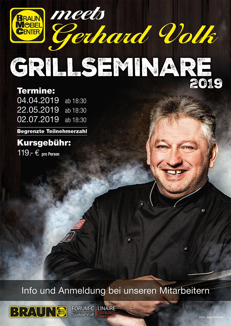 Grillkurs Exklusiv Fur Braun Mobelcenter Forum Culinaire